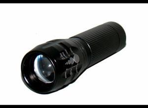 Mini Lanterna Tática Led Cree Q3 com Zoom Ajustável