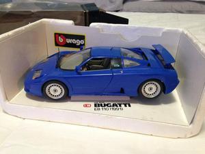 Miniatura Burago Bugatti EB-