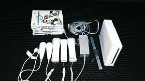 Nintendo Wii + Jogos Originais (Just Dance, Mario Kart,