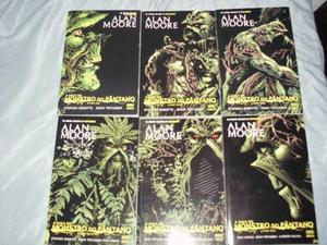 Saga Do Monstro Do Pântano - Alan Moore - 6 Edições