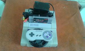 Super Nintendo Original com 1 Controle e com jogo