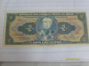 Cédulas Antigas 2 Cruzeiros