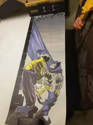 Pôster Batman Omelete Box + Convite Filme Guardiões Vol2 +