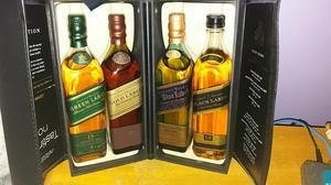 Whisky coleçao johnnie walker