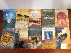20 livros do Pastor Silas Malafaia. Novos e lacrados