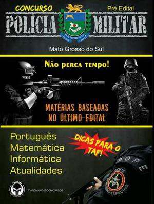 Apostila POLÍCIA MILITAR de Mato Grosso do Sul
