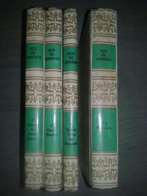 Coleção de livros Eça de Queiroz