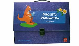 Kit livro Projeto PRIMAVERA (novo) 5 a 6 anos!!