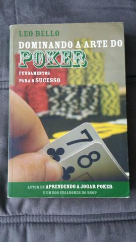 Livro Dominando a arte do.poker