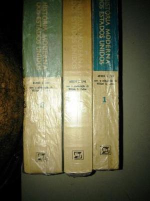Livro História Moderna Dos Estados Unidos 3 Volumes