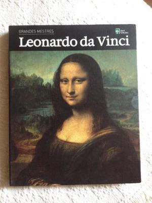 Livro Leonardo Da Vinci - Grandes Mestres - Abril Coleções