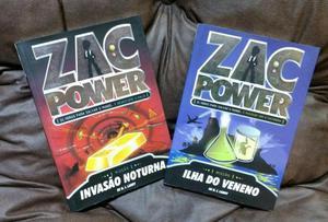 Livros da coleção Infanto Juvenil: Zac Power