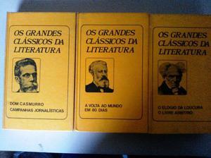 Os Grandes Clássicos Da Literatura - 3 Volumes