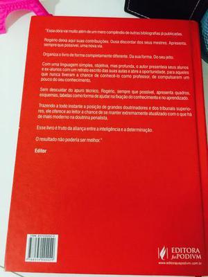 Vendo livro: MANUAL DE DIREITO PENAL (parte geral)