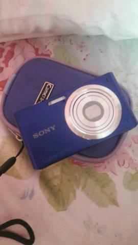 Câmera sony DSC - W610 azul c / 14.1 MP
