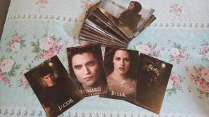 Coleção completa de Fotocards - A Saga Crepúsculo - Lua