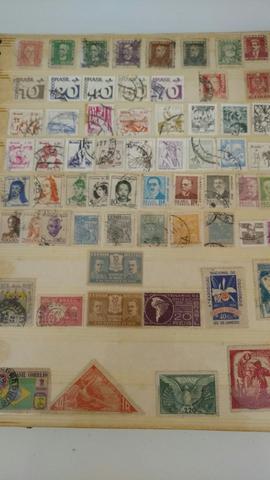 Coleção de selos nacionais