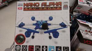 Drone com câmera HD 6 motores Nano Alpha 2.4Ghz 4.5Ch