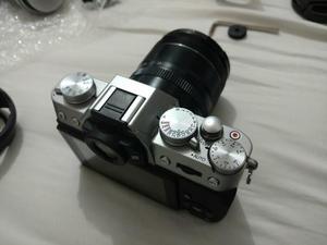 Fujifilm X-T10 Silver + Extras