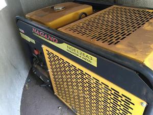 Gerador de energia Nagano NDE12ea3 à diesel trifásico