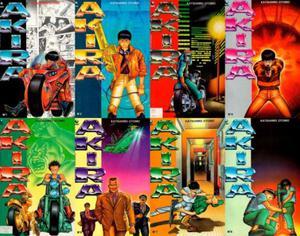 Manga Akira 31 ao 38 - Editora Globo
