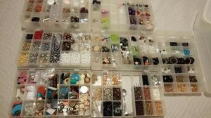 Peças de bijoux e artesanato