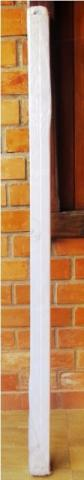 Porta Branca Sanfonada 60 cm