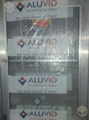 Porta aluminio 80cm menor preço do mercado
