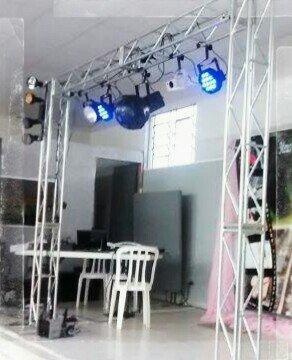 Som e iluminação completo para DJ, festas e afins
