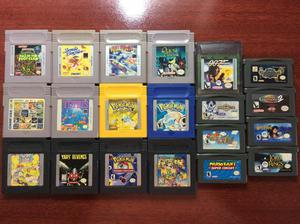 Jogos Game Boy Advance e Game Boy Color