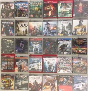 Jogos PlayStation 3 fazemos entregas e aceitamos cartão