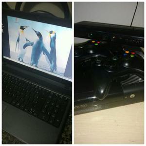 Xbox 360 + notbook acer por xbox one