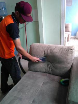Lavagem a seco á domicilio profissional