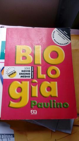 Livro Biologia volume único