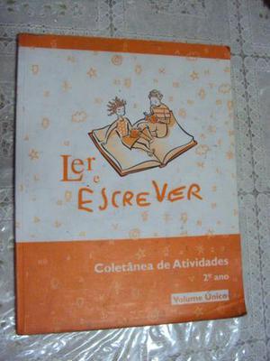 Livro Ler E Escrever Coletânea De Atividades 2º Ano