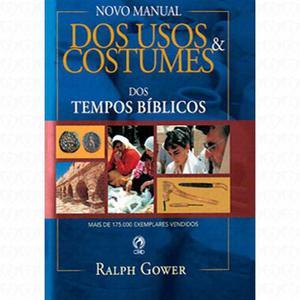 Livro usos e costumes dos tempos bíblicos