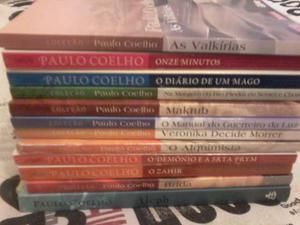 Livros de Paulo Coelho, 8 unidades, usados, bem conservados