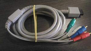 Cabo Video Componente Original para Nintendo Wii