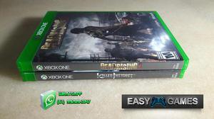 Combo Jogos Xbox One Original - Cartão de Crédito