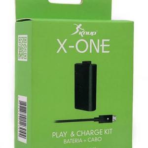 Kit Play E Charge Xbox One Knup Bateria recarregável para o