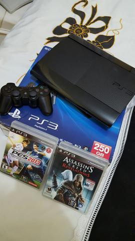 PS3 Super Slim 250GB. Campina Grande