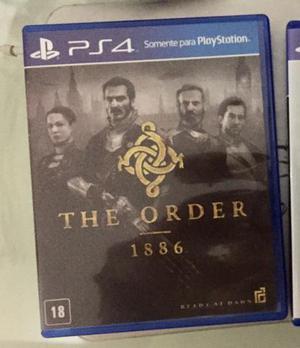 Vendo/tr oco The Order  ps4