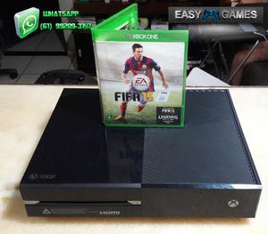 Xbox One 500gb na caixa + Jogo - Cartão de Crédito