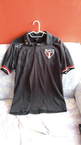 Camisa Polo Oficial do São Paulo FC Usada