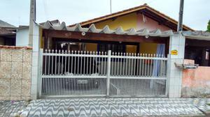 Casa na Praia de Mongaguá Litoral Sul - SP