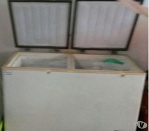 Freezer horizontal, duas portas