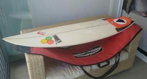 Prancha de surf Al Merrick com acessórios