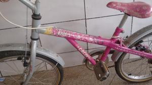 Bicicleta caloi aro 20 da barbie semi nova com nota fiscal