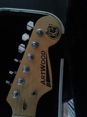 Guitarra stratocaster artwood