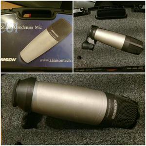 Microfone Samson c01 studio condensador